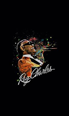 Charles Digital Art - Ray Charles - Soul by Brand A