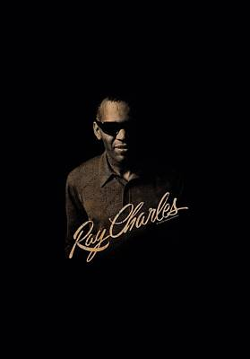 Charles Digital Art - Ray Charles - The Deep by Brand A