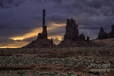 Photograph - Spirit Of Our Ancestors Monument Valley by Stuart Gordon