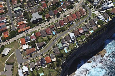 Photograph - Ray Okeefe Reserve, Residential Area by Brett Price