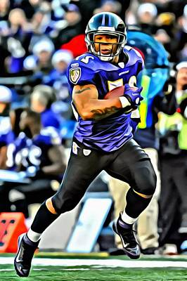 Photograph - Ray Rice by Florian Rodarte