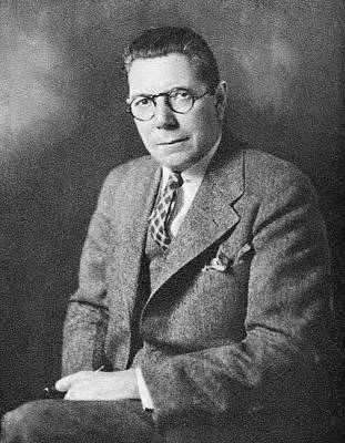 Heredity Photograph - Raymond Pearl by American Philosophical Society