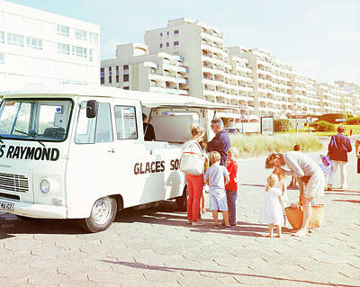 Photograph - Raymonds Glaces by Mark Leary