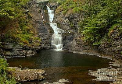 Photograph - Raymondskill Falls by Adam Jewell