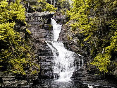 Pennsylvania Waterfalls Photograph - Raymondskill Falls In Milford Pa by Bill Cannon