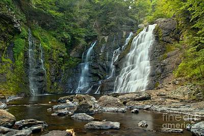 Photograph - Raymondskill Waterfall Canyon by Adam Jewell