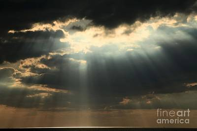 Photograph - Rays From Heaven by Adam Jewell