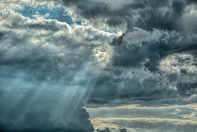 Rays From Heaven Art Print