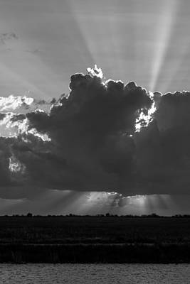 Photograph - Rays From The Clouds by Ed Gleichman