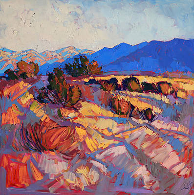 Painting - Rays Of Borrego by Erin Hanson