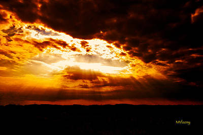 Photograph - God's Hope In Skyscape by Femina Photo Art By Maggie