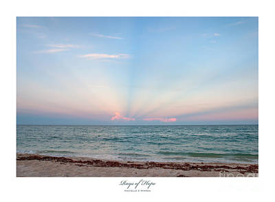 Rays Of Hope Art Print by Michelle Wiarda