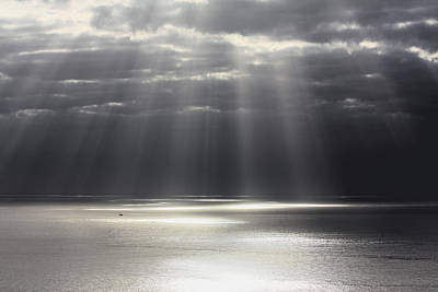 Nature Photograph - Rays Of Hope by Shane Bechler