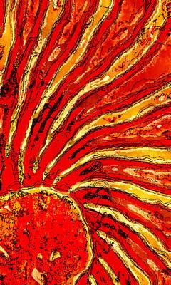 Sun Rays Digital Art - Rays Of Life by David G Paul
