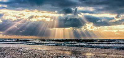 Rays Of Light Print by Alex Hiemstra