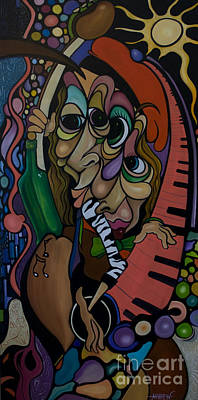 Painting - Razamajazz by Matthew Livsey