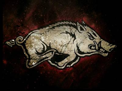 Razorback Bliss Print by Russten Johnson