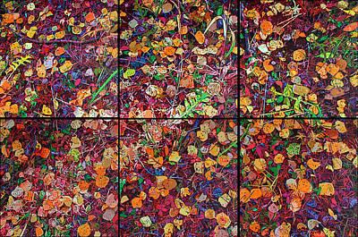 Sextet Painting - Razzle-dazzle by Greg Navratil