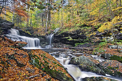 Waterfall Photograph - Rb Ricketts Waterfall by Marcia Colelli