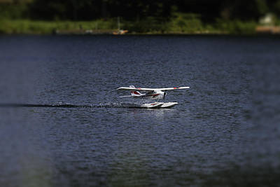 Radio Control Photograph - Rc Float Plane 1 by Thomas Young