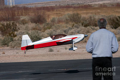 Photograph - Rc Remote Control Airplane by Gunter Nezhoda