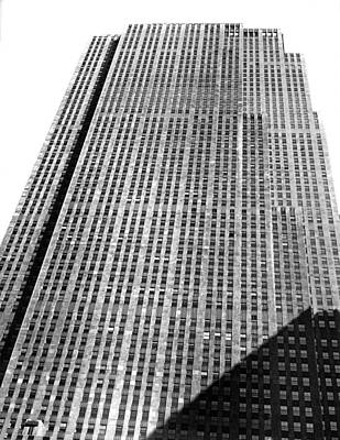 Rca Building In New York City Print by Underwood Archives