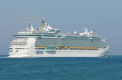 Photograph - Rci Freedom Of The Seas by Bradford Martin