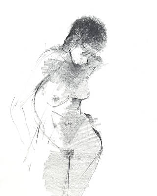 Shades Of Grey Drawing - Rcnpaintngs.com by Chris N Rohrbach