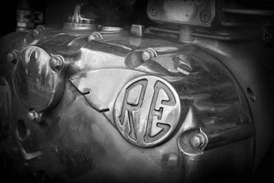 Photograph - Re Royal Enfield by Kelly Hazel