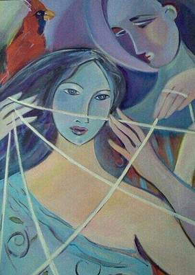 Painting - Re-weaving The Ties by Marlene LAbbe