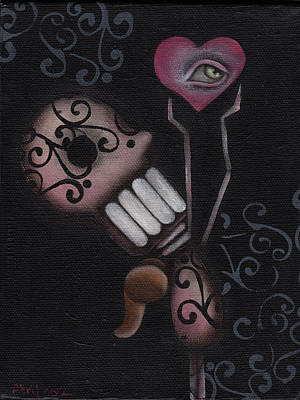 Pop Surrealism Painting - Reach For It  by  Abril Andrade Griffith