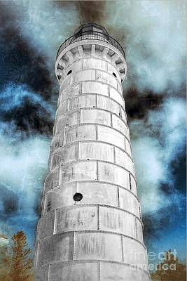Nikki Vig Royalty-Free and Rights-Managed Images - Reach for The Clouds - Lighthouse by Nikki Vig
