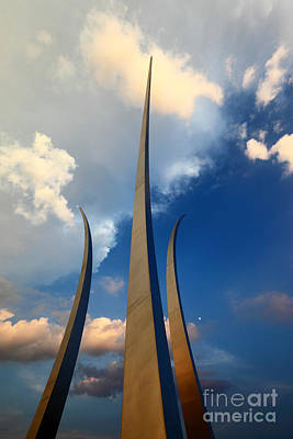 Missing Man Formation Photograph - Reach For The Skies by James Brunker