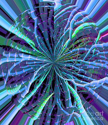 Reach Of The Bamboo Forest Art Print by Ann Johndro-Collins