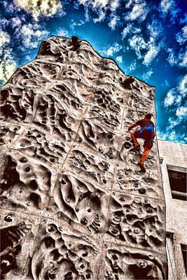 Photograph - Reaching A Climbmax by John Haldane