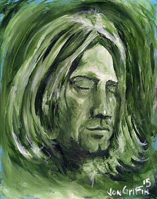 Reaching Nirvana Art Print by Jon Griffin