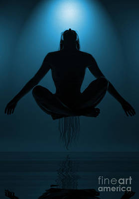 Meditation Photograph - Reaching Nirvana.. by Nina Stavlund