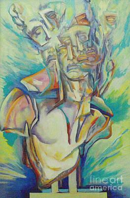 Reaching The Breaking Point 3 Art Print by Eva Berman