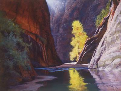 Reaching Through The Narrows Art Print