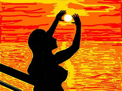 Reaching To The Sun Art Print by Anand Swaroop Manchiraju