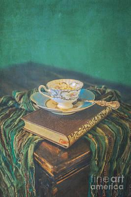 Read Drink Love Art Print by Danilo Piccioni