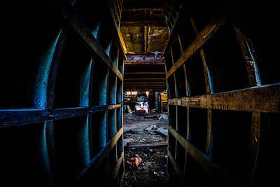 Abandonded Photograph - Read My Lips by Randy Scherkenbach