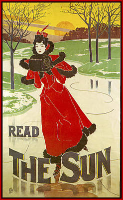 Photograph - Read The Sun by Louis John Rhead