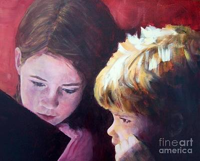 Read To Me Art Print by Mary Lynne Powers