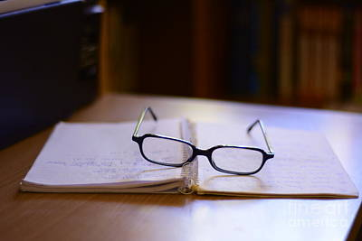 Reading Glasses Art Print by Bobby Mandal