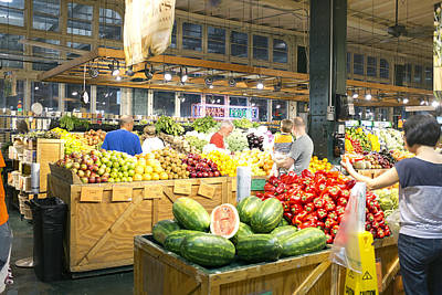 Philadelphia Photograph - Reading Terminal Market by Hugh Smith