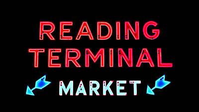 Reading Terminal Market Print by Stephen Stookey