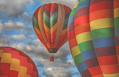 Photograph - Readington Balloon Fest Media Launch 13 by Pat Abbott