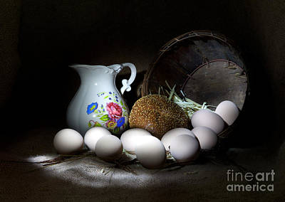 Ready For Breakfast Art Print