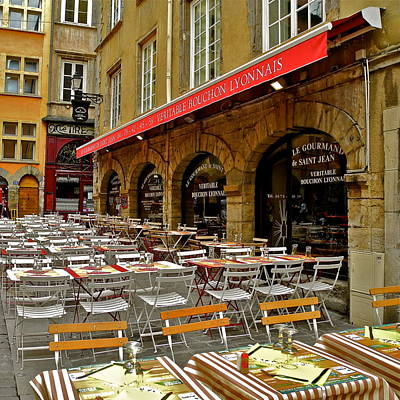 Photograph - Ready For Lunch In Lyon by Kirsten Giving